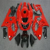 thundercat carenado rojo al por mayor-Custom + 5Regalos + rojo YZF600R 1997 1998 1999 2000 2001 2002 2003 2004 2005 2006 2007 ABS Fairing para Yamaha Thundercat