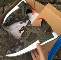 Wholesale Rubber Duck Shoes Sale - 2018 Hot Sale XR1 Runner Duck Camo Green X City Sock Pk R1 Wool Top quality Fashion Running Shoes For Men Women Size 36-45
