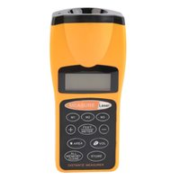 Wholesale tools measuring area for sale - Y6229 LCD Ultrasonic Measure Distance Meter Pointer Laser Point Range Finders m Tool Rangefinders Area
