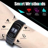 relojes de pulsera unisex al por mayor-Sport Smart Watch Unisex Nuevo Diseño Smart Band F1 Pulsera Monitor de Ritmo Cardíaco Llamada Podómetro Pulsera Para Xiaomi Iphone