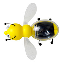 Wholesale battery powered kids toys for sale - Group buy 2018 NEW Solar Powered Little Bee children Educational Toys Solar powered without battery C4438