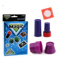 Wholesale Children Range - Stage Magic Toys New Year Gift Plastic Amazing Arena Children Props Magical Close Range Factory Direct 4 6xd V