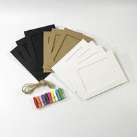 papierrahmen für fotos großhandel-DIY Bilderrahmen Kreative Holz Clip Papier Bilderrahmen Dekoration Lieferungen Mit Seil Clips 10 STÜCKE In Einem Satz 2 8sy3 XW
