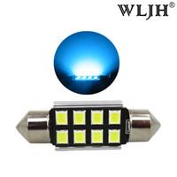 Wholesale Golf Interior - WLJH LED C5W Car Festoon 36mm 6418 LED light Interior Dome Led Auto Lamp Lighting Bulb For KIA Amanti Forte Sportage Rio