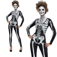 Wholesale fast shipping tutus for sale - Group buy 9 different style Halloween terror skeleton dress ghosts Costume Party dress up holidays cosplay skirts fast shipping free