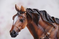 "ingrosso sculture di cavallo-New Large Resin Horse Statue Figure Sculpture 11 ""Long"