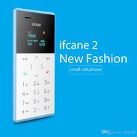 gsm сотовые телефоны сим-карты оптовых-стиль небольшой размер IFcane E1 карты телефон мини мобильный телефон ультра тонкий мини кредитной карты телефон FM-радио мини дешевые телефоны