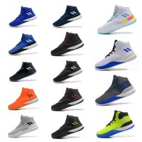 Wholesale basketball d rose - D Rose 8 Men Basketball Shoes Athletics Sneakers CQ1618 Sport Outdoor Boots Size 7-12 High Quality