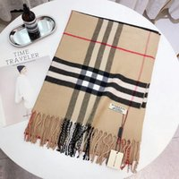 ingrosso cachemire di qualità-Sciarpa di marca da donna di alta qualità formato 180x70cm Sciarpe marche design plaid Sciarpe di alta qualità moda design pattern plaid Shaw