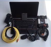 programmation usb c achat en gros de-2019 Top Quality Pour B / MW ICOM NEXT + Outil de programmation de diagnostic B + C + Ordinateur portable e6320 i5 cpu + 480gb Mode expert SSD prêt à l'emploi