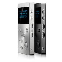 iphone wma großhandel-New XDUOO X3 Protable Hohe Auflösung Lossless Musik MP3 HIFI Musik-Player mit HD-OLED-Bildschirm Unterstützung APE / FLAC / ALAC WAV