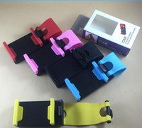 Wholesale car steering phone holder for sale - Group buy Car Steering Wheel SMART Clip Bike Mount For IPhone s s s S Plus for Samsung Note5 S6 S7 Edge Plus Mobile phone holder Frame