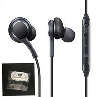 ohr stereo kopfhörer samsung großhandel-2018 neue S8 Headset Echte Schwarze In-Ear-Kopfhörer EO-IG955BSEGWW Kopfhörer-Freisprecheinrichtung für Samsung Galaxy S8 S8 Plus OEM Ohrhörer