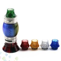 Wholesale pretty e cigarettes for sale - Group buy TFV8 Drip Tip Resin US dollar style Drip Tips for TFV12 Pretty Mouthpiece E Cigarette DHL Free