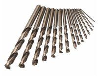 Wholesale wood works tools resale online - 15PCS Cobalt Drill Bits for Metal Wood Working M35 HSS Co Steel Straight Shank mm Twist Drill Bit Power Tools