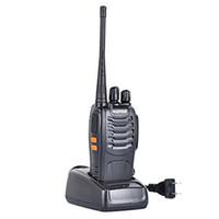 uhf cb zwei-wege-radios großhandel-Baofeng BF-888S Walkie Talkie Funkgerät Walkie Talkie 5W Handheld Baofeng UHF 400-470MHz 16CH Zwei-Wege-CB-Funkgerät