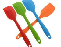резиновый шпатель для выпечки оптовых-21см силиконовый шпатель тесто скребок антипригарным резиновый торт шпатель для приготовления пищи выпечки жаропрочных мыть в посудомоечной машине торт инструменты