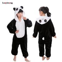 ingrosso i bambini pigiama stella-Vestiti delle ragazze dei ragazzi Star Pigiama Unicorno Inverno Animale Unicorno Panda Cartoon Pigiama Bambini Bambini Sleepwear Notte-Suit