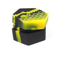 silikongefäße groihandel-Nagelneue jards tupfvorratsbehälter nicht-stick silcone behältergläser dab slick behälter ölbehälter