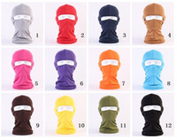 Wholesale police motorcycles - CAR-partment Outdoor Balaclavas Sports Neck Face Mask Ski Snowboard Wind Cap Police Cycling Balaclavas Motorcycle Face Masks MK258