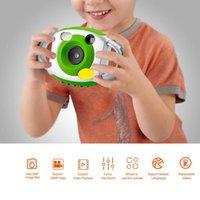 projeções de video venda por atacado-CD-FP 5MP HD Projeção Mini Câmera Digital LCD 1080 P Dos Desenhos Animados Crianças Gravador De Vídeo Automático Fotografia Presente