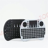Wholesale fs remote for sale - Group buy Wireless Keyboard rii i8 keyboards Fly Air Mouse Multi Media Remote Control Touchpad Handheld for TV BOX Android Mini PC B FS
