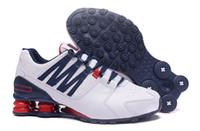 mulher, correndo, sapatos venda por atacado-Nike shox novo Homens baratos Clássico Avenue 803 Fornecer Oz Chaussures Femme Tênis Esportivos Treinador de Tênis Almofada Tênis tamanho 40-46