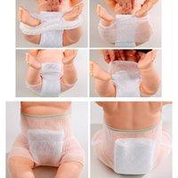 neue hosenart für babys großhandel-1pcs neue atmungsaktive Mesh Baby Training Hosen / Baby Windel / wiederverwendbare Windel / waschbare Windeln / Baumwolle lernen Hosen / gleichen Stil Lätzchen