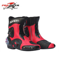 Wholesale high speed motorcycle - PRO-BIKER SPEED BIKERS Motorcycle Boots Racing Touring Motocross Off-Road Riding Boots Motorbike Racing Mid-Calf Shoes