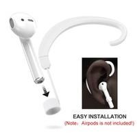 usb 265 venda por atacado-1 par de cinta de orelha sem fio pendurado acessórios de gancho titulares para airpods # 265