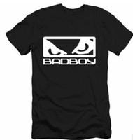 Wholesale California Fashion Men - MEN Bad Boy Icon Shirt MMA UFC ONE California Hawaii Skate Brand Tee BadBoy T SHIRT