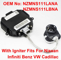 Wholesale car parts for nissan resale online - 1PCS V W D2R D2S OEM HID Xenon Headlight Ballast With Igniter Control Unit Car Part Number NZMNS111LANA NZMNS111LBNA For Nissan Infiniti