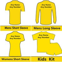 Wholesale Yellow Tracksuit For Women - 2018 New Thailand AAA Soccer Jerseys Payment Link Football Shirt for Men Women Kids Soccer Jacket Pants Tracksuit