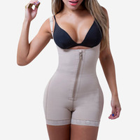 1bc288ce8af Latex Shaper Clip and Zip Fajas Reductoras Hot Body Shaper Shapewear  Bodysuit Waist Butt Lifter With Tummy Control