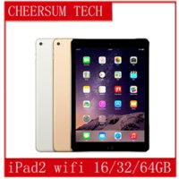 "Wholesale Refurbished Ipad 16gb - Refurbished iPad 100% Original Apple iPad2 16GB 32GB 64GB Wifi iPad 2 Apple Tablet PC 9.7"" IOS refurbished Tablet 5pcs free DHL"