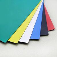 marcar folha venda por atacado-Flexível colorida Folha Magnetic tamanho A4 para rótulos de borracha Mark aplicação do magneto 5 Pcs / Set