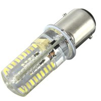bombilla led para barco al por mayor-72 Bombilla LED BAY15D 1157 3014SMD Silicona Crystal Luces Marinas Car Boat Lámpara Bombilla Warm Pure White Lighting AC / DC12-24V