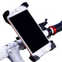 зажим велосипед руль оптовых-Универсальный 360 Вращающийся Велосипед Держатель Телефона Руль Клип Стенд Кронштейн Для Смарт-Мобильного Телефона С Розничной Упаковкой