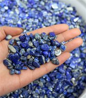 Wholesale Blue Stone Mineral - grams of natural lapis lazuli stone fragments, lapis lazuli is the treatment of mineral polishing crude lithotripsy energy.