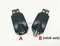 ingrosso adattatore filettatura ego-InStock CE3 O-Pen Battery Wireless USB Caricabatterie Sigaretta elettronica per eGo 510 Bud Bud CE3 Vape Pen Dank TKO Cookies LEGGE Preheat