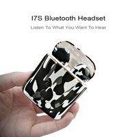 écouteurs bluetooth achat en gros de-I7S TWS camo Écouteurs Ture Sans Fil Bluetooth Double Écouteurs Jumeaux Écouteurs Stéréo Musique Casque Pour Tous Bluetooth Mobile