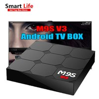 Wholesale v3 tv - New M9S V3 Smart Android 6.0 TV Boxes Rockchip RK3229 Quad Core 1GB 8GB Quad Core Google Set Top Box 3D media players box