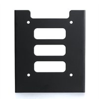 Wholesale ssd mounts for sale - Group buy New Black inch SSD HDD To inch Metal Mounting Adapter Bracket Dock for PC SSD XXM