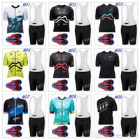 Wholesale bike jerseys women - MAAP 2018 Short Sleeves Cycling Jerseys Set Summer Style For Men Women MTB Ropa Ciclismo 9D Gel Padded Shorts Size XS-4XL Bike Wear