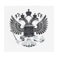 Wholesale russian coats - 90*90mm Coat of Arms of Russia Nickel Metal Sticker Secals for Car Phone Laptop Russian Federation Car Stickers Auto Accessories