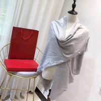 Wholesale white silk chiffon scarves resale online - luxury scarf fera women chiffon silk Skull Shawl cm white designer brand cape fashion winter plaid scarf