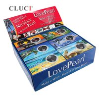 Wholesale wish pearl kit for sale - Group buy Ocean Series of Love Wish Freshwater Cultured Pearl Oyster Kit DIY Jewelry Sets