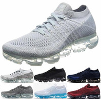 Wholesale Open Toe Fashion Shoe - 2018 New Vapormax Mens Running Shoes For Men Sneakers Women Fashion Athletic Sport Shoe Hot Corss Hiking Jogging Walking 849558-006