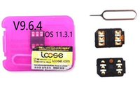 Wholesale Unlocked Softbank - V9.6.4 RSIM12+ R-SIM 12 iccid rsim 12 unlock ios 11.3.1 perfect Sprint T-MOBILE iphonex 8 7plus i7 6s plus, 6 AU softbank 4G wcdma
