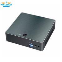 i7 hd venda por atacado-Partaker Nuc Mini PC i7 8550U Quad Core do Windows 10 Pro DDR4 Max 16 GB AC Wi-fi Mini Computador HD Typc-C